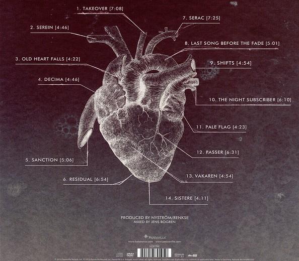 KATATONIA - The Fall Of Hearts [Limited Deluxe Boxset +3] (2016) back