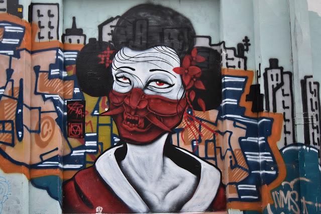 Darlinghurst Street Art by Chri§na Tanra