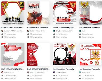 16 Link Download Bingkai Twibbon Hari Kesaktian Pancasila 1 Oktober 2021