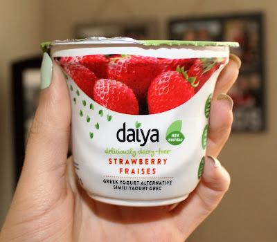 Daiya Strawberry Greek Yogurt