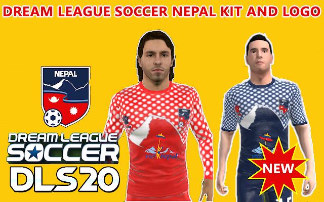 Nepal Dream League Soccer Kits and Logo 2020