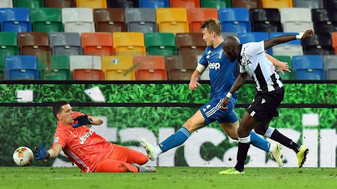 Video Udinese 2-1 Juventus: Người hùng bất ngờ, ngược dòng khó tin
