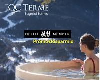 Logo Concorso ''Vinci le Terme con H&M'': gratis 15 cofanetti weekend
