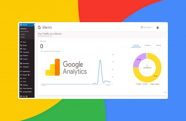How To View Google Analytics In WordPress Dashboard | Site Kit By Google 1