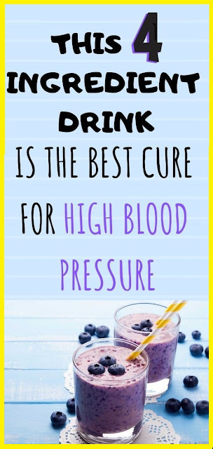 This 4-Ingredient Drink Is The Best Cure For High Blood Pressure