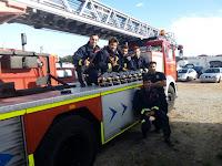 Los 6 bomberos aprobados del grupo Entrenador de Atletas aprobados en 2015 en la Comunidad de Madrid