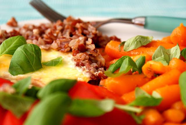 ryż czerwony skworcu,sól drobnoziarnista himalajska różowa skworcu,olej kokosowy skworcu,wartość odżywcza czerwonego ryżu,jaja sadzone, dieta cukrzycowa,marchwka baby,