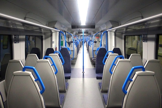 Image: Interior of a Class 717 Image by Superalbs, released under Creative Commons BY-SA 4.0
