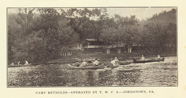 Vintage Johnstown Camp Reynolds