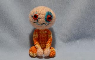 crochet toy  zombie