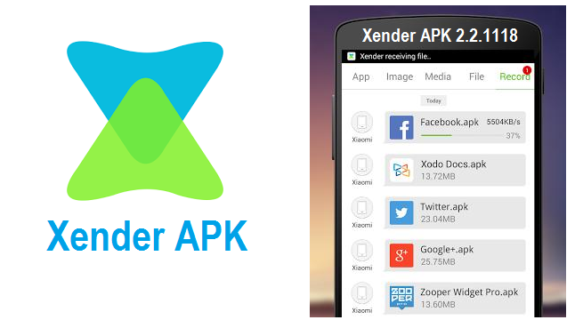Xender apk download for android mobile
