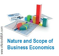 Business Economics, also called Managerial Economics, is the application of economic theory and methodology to business. Business involves decision-making; and business economics serves as a bridge between economic theory and decision-making in the context of business.