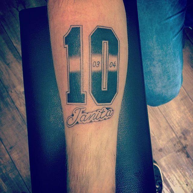 Mytattooland Number Tattoos