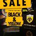 Black & Yellow Weekend Sales από το AEK Concept Store!
