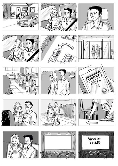 Storyboard iklan