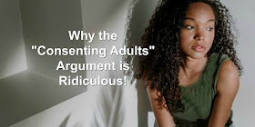 """""""We're consenting adults, so we aren't hurting anyone."""" It's an argument that might sound good, but it's not true."""