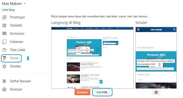 Cara Memasang 5 Unit Iklan Google Adsense Dalam 1 Halaman Postingan 1