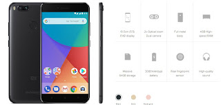 Harga dan Spesifikasi Xiaomi Mi A1 lengkap dengan review prodak