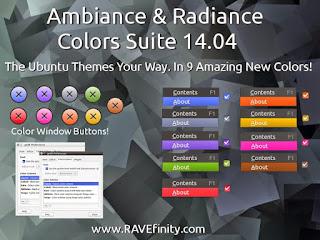 Ambiance i Radiance colors Ubuntu Linux trikovi