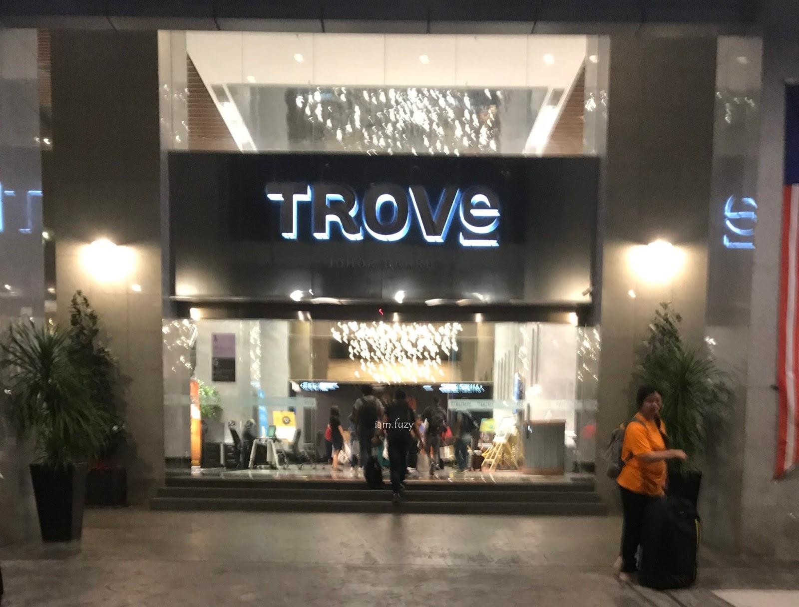 Satu Malam Di The Trove Hotel Johor Bharu