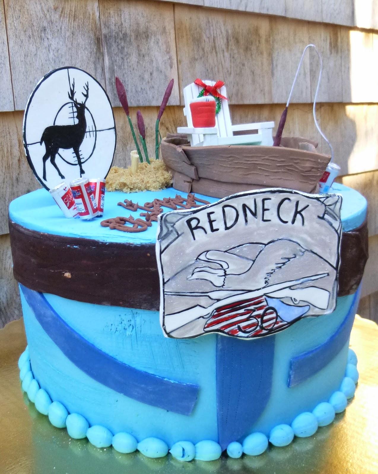 Artisan Bake Shop Redneck 30th Birthday Cake