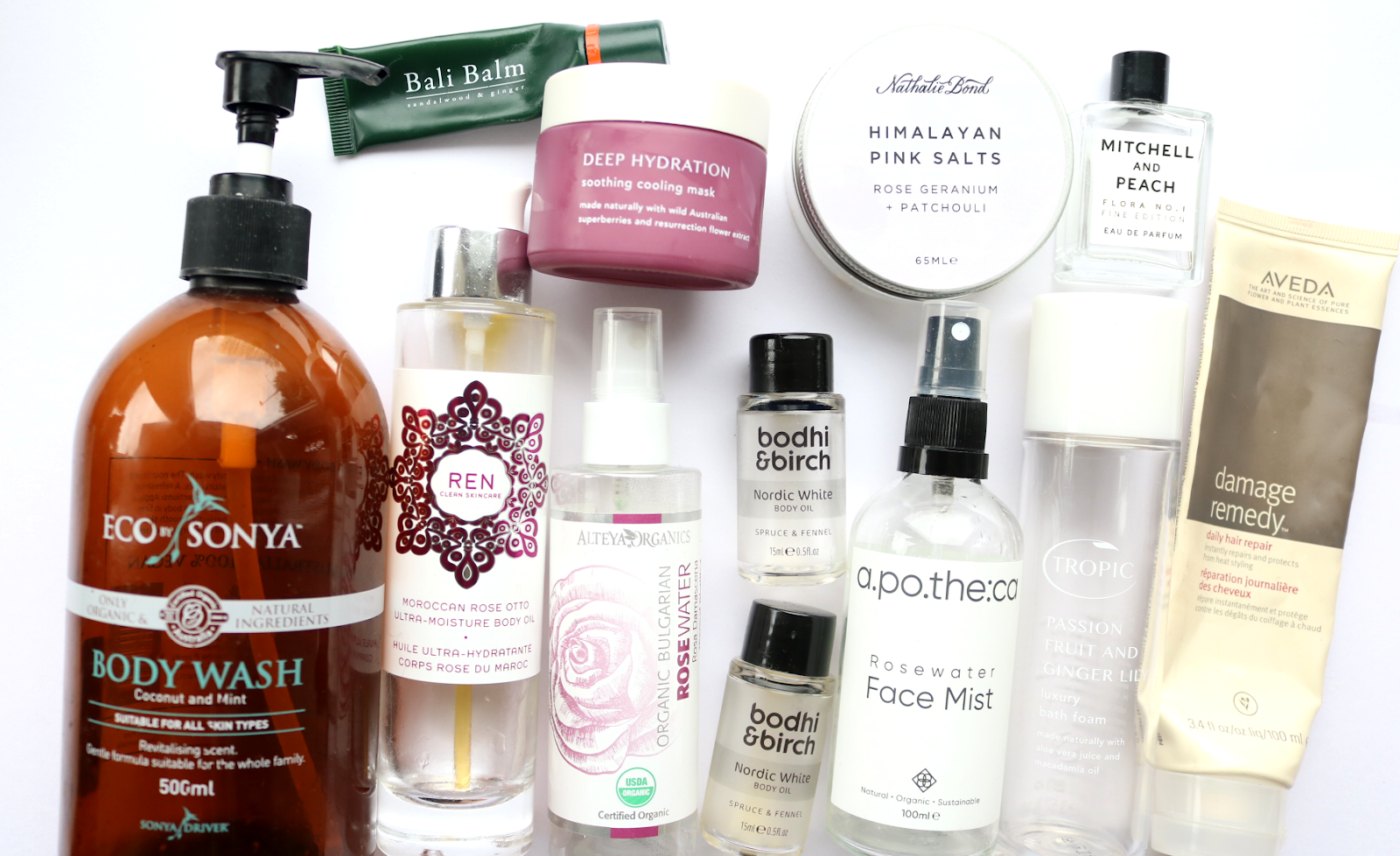 December Empties: Products I've Used Up