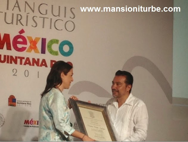 Acknowledgement from the Michoacan Government to the Disgner Cristina Pineda