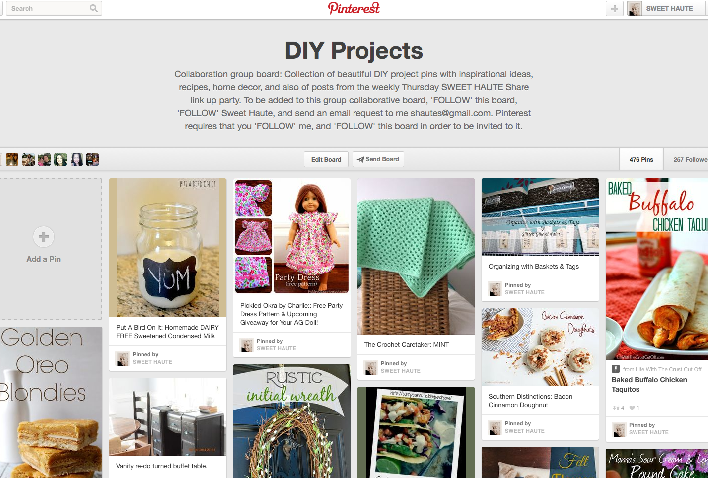 http://www.pinterest.com/sweethaute/diy-projects/