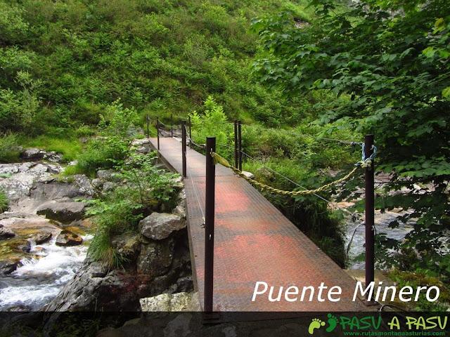 Puente Minero sobre el río Casaño