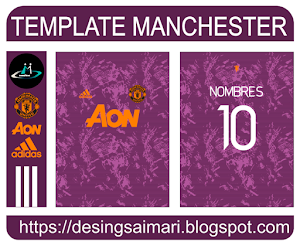 Manchester United Entrenamiento 2021-2022 (Vector)
