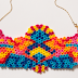 How to Make an Easy Perler Bead Focal Necklace