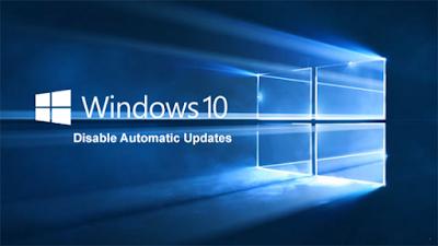 Menonaktifkan Update Otomatis Windows 10
