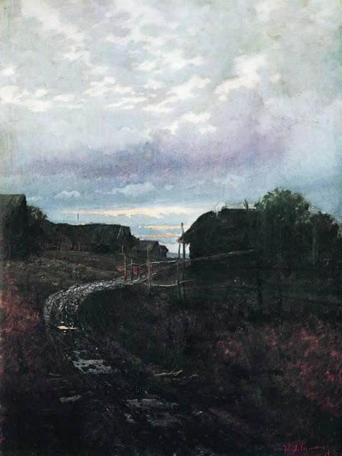 Исаак Ильич Левитан - Вечер. 1877
