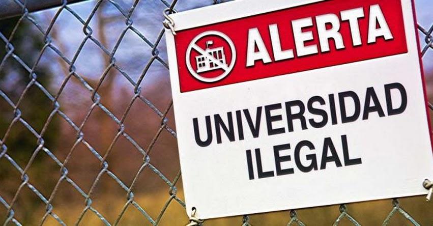 SUNEDU alerta sobre Examen de Admisión ilegal de la Universidad a distancia Emanuel (13 Agosto) www.sunedu.gob.pe