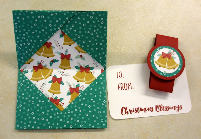 another chance to stamp origami gift card holder instructions
