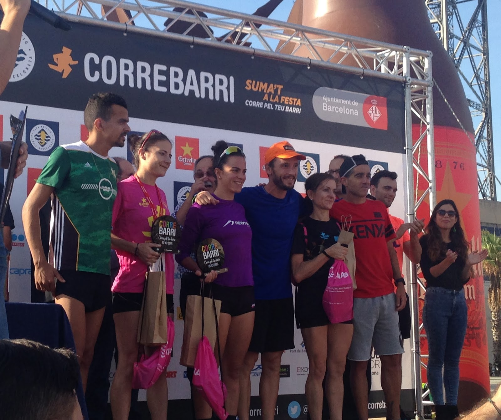 Vencedores CORREBARRI 2016