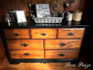 How to refinish wood furniture dresser paint stain tutorial diy