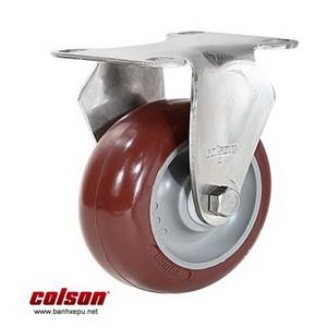 Bánh xe PU đỏ càng bánh xe inox 304 | 2-3308SS-254