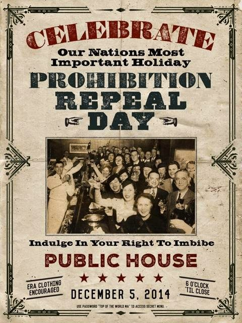 Hip In Detroit: Repeal Day Party at Public House
