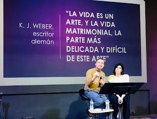 Dale un tiempo a tu matrimonio, Vanessa Vergara, Juan Carlos Parra, Pareja, matrimonio, comunicación, sexo,