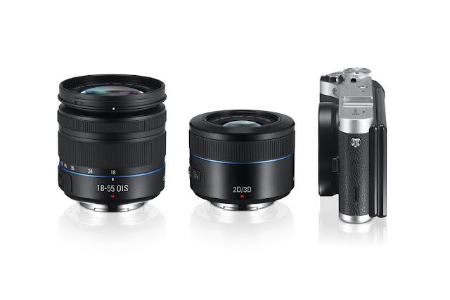 Obiektyw Samsung 45 mm 2D/3D