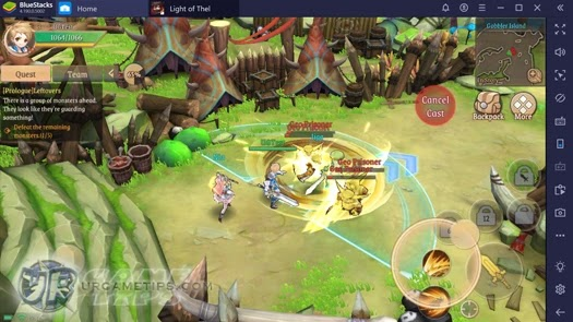 Light of Thel Mobile Gameplay with Android Emulator 2