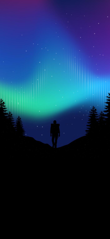 Northern light auro boreal iphone wallpaper HD
