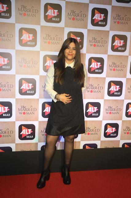 Bollywood Producer Ekta Kapoor Latest Hot Stills At Event Navel Queens