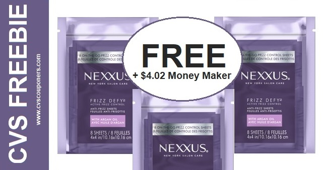 FREE Nexxus Treatment CVS Deal 1117-1123