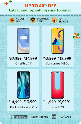 Latest and top selling Smartphones