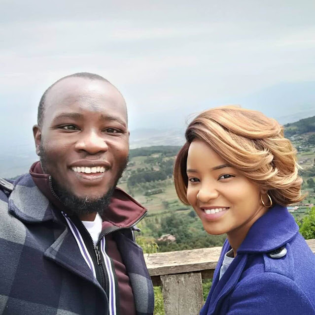 Daddy Owen and his wife Farida Wambui photo