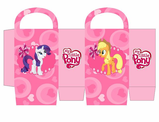 Cajas de My Little Pony para imprimir gratis.
