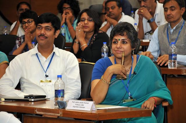 Mr. Subhash Chandra Vashishth with Dr. Ashis Jalote Parmar, the Organiser