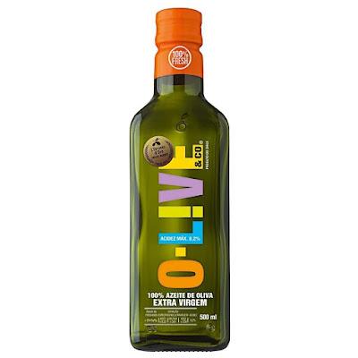 Umectação com azeite o-Olive extra virgem